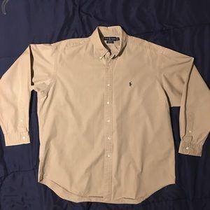 Men's Polo by Ralph Lauren Button Down Shirt.